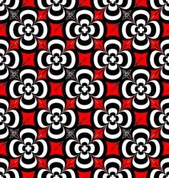 seventies flower vector image