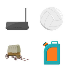 Sport travel trip and other web icon in cartoon vector