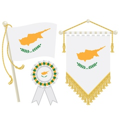 Cyprus flags vector