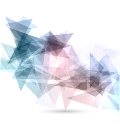 abstract geometric design vector image