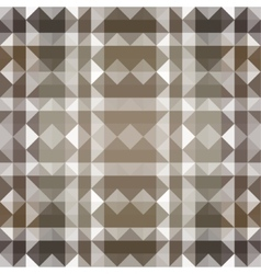 Brown Seamless Triangle Abstract Background vector image vector image