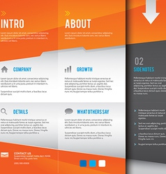 Modern and simple multipurpose design layout vector image