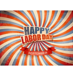Labor day celebration background vector