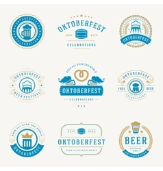 Retro style labels badges and logos set vector