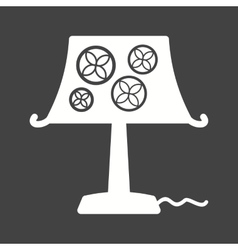 Decoration lamp vector