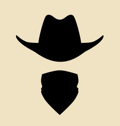 bandit vector image