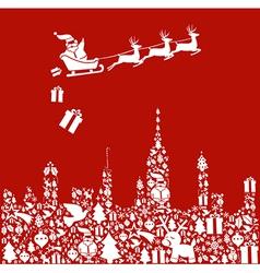 Christmas Santa vector image vector image