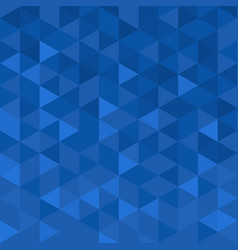 Geometric modern background with blue mosaic vector