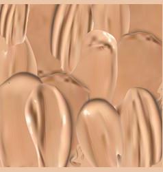 liquid foundation background vector image vector image