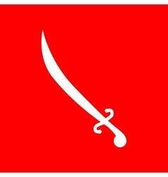 Sword sign vector