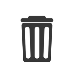 Trash recycle ecology save icon graphic vector