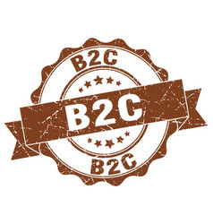 B2c stamp sign seal vector
