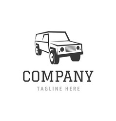 car company symbol template auto wash machine vector image
