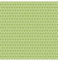 Green tea leaves pattern vector image vector image