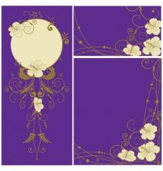 hibiscus vector image