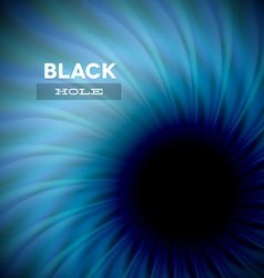 Black hole and wavy rays vector