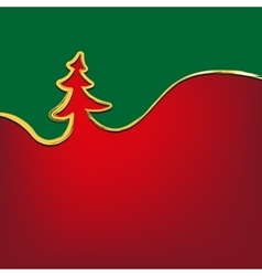 christmas background christmas-tree strokes symbol vector image
