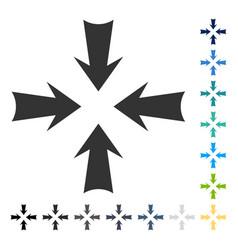 Reduce arrows icon vector
