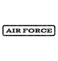Air force watermark stamp vector