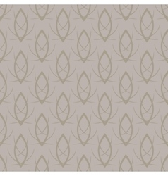Seamless elegant gold pattern background vector