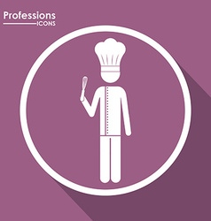 Professions design vector
