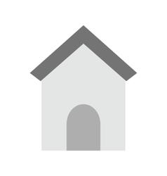 Dog house vector