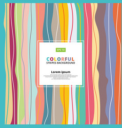 abstract colorful pastels vertical striped vector image