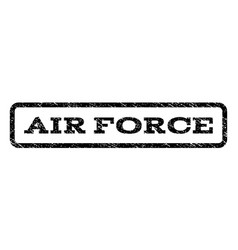 Air force watermark stamp vector