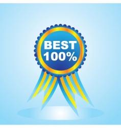best label vector image vector image