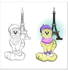 Cute Cat 2 vector image