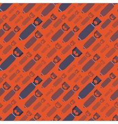 H-bobms seamless pattern vector