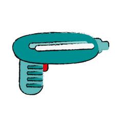 Prank gun funny toy icon imag vector