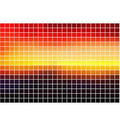 Purple orange yellow red brown square mosaic vector