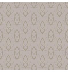seamless elegant gold pattern background vector image vector image