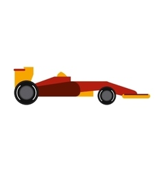 Race car of formula racing concept vector