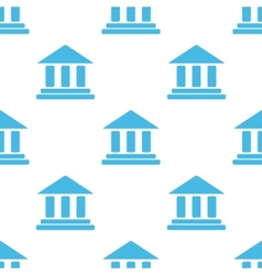 Bank white pattern vector image