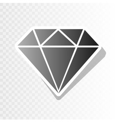 diamond sign new year vector image