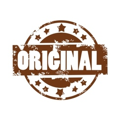 original stamp vector image
