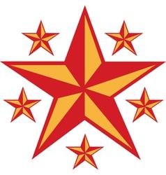 Retro Star vector image