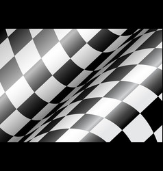 checkered flag wave vector image