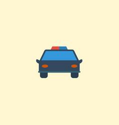 flat icon automobile element vector image