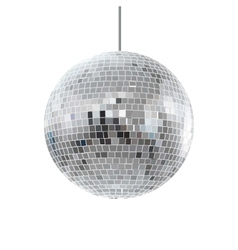 Disco shiny ball vector