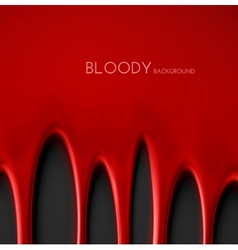 Bloody Background vector image vector image