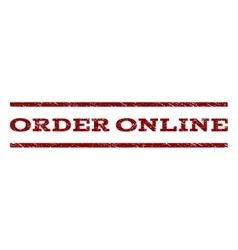 Order online watermark stamp vector