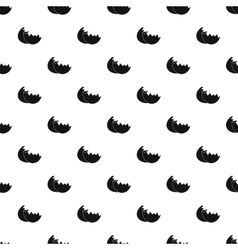 Shells from egg pattern simple style vector