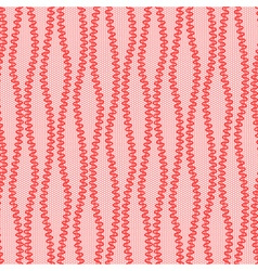 Red abstract lace pattern vector