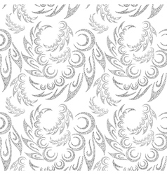 Abstract contour seamless background vector