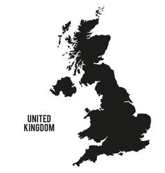 map icon United kingdom design graphic vector image