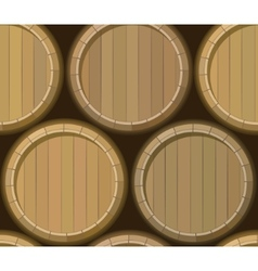barrel stand seamless background vector image