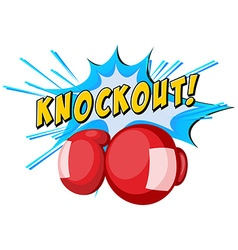 Expression knockout and boxing gloves vector